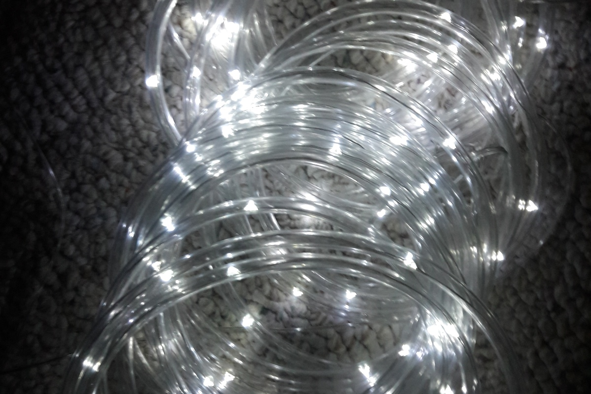 Sogrand solar rope lights outdoor decorations garden decorative it is outlined with rope lights and they look exactly the same as the sogrand 100led 30ft solar outdoor mozeypictures Choice Image