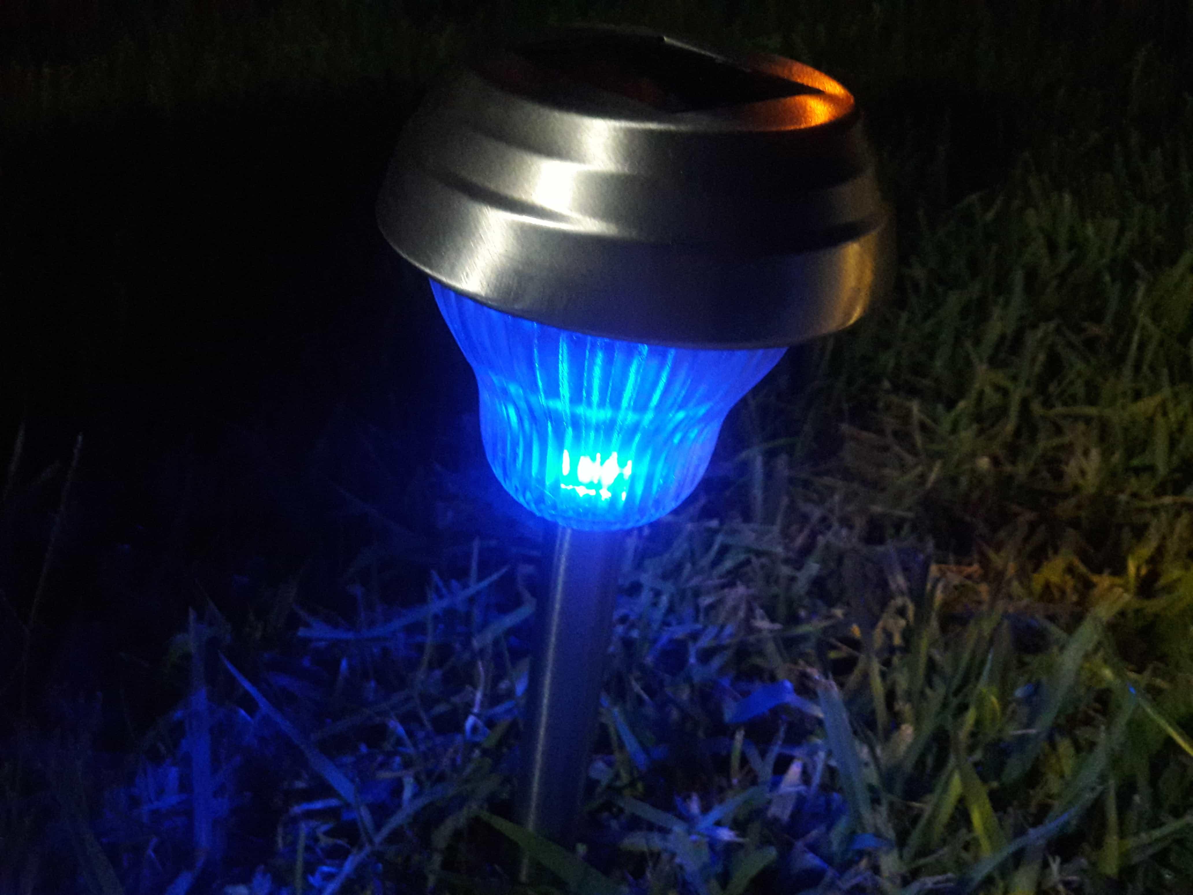 Sogrand Solar Lights Outdoor Pathway Decorative Garden Stake Light