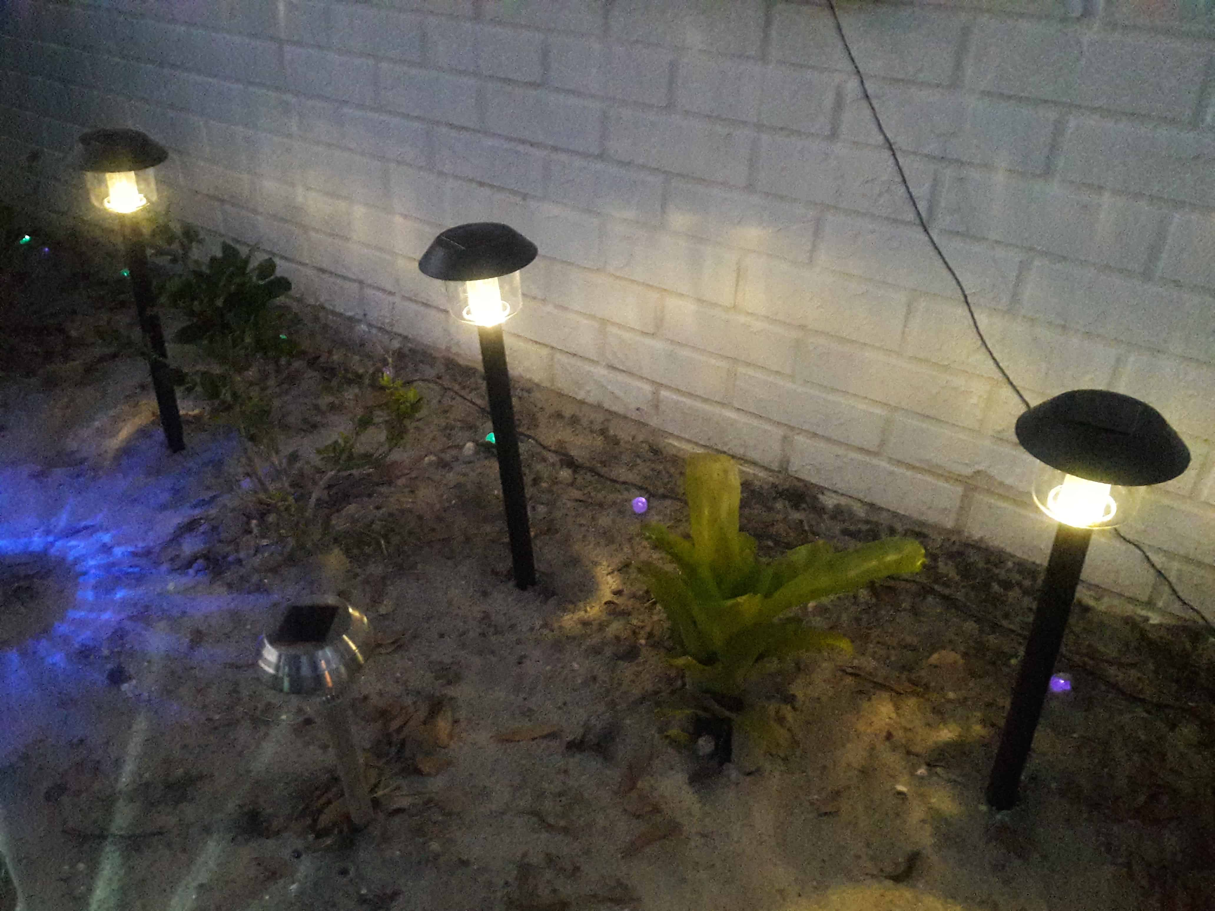 The Sogrand Christmas Solar Lights With 15 Lumen, Are Really Impressive In  My Front Garden. They Have 3 Pieces Of Pole, Which Makes Them Higher Than  Other ...