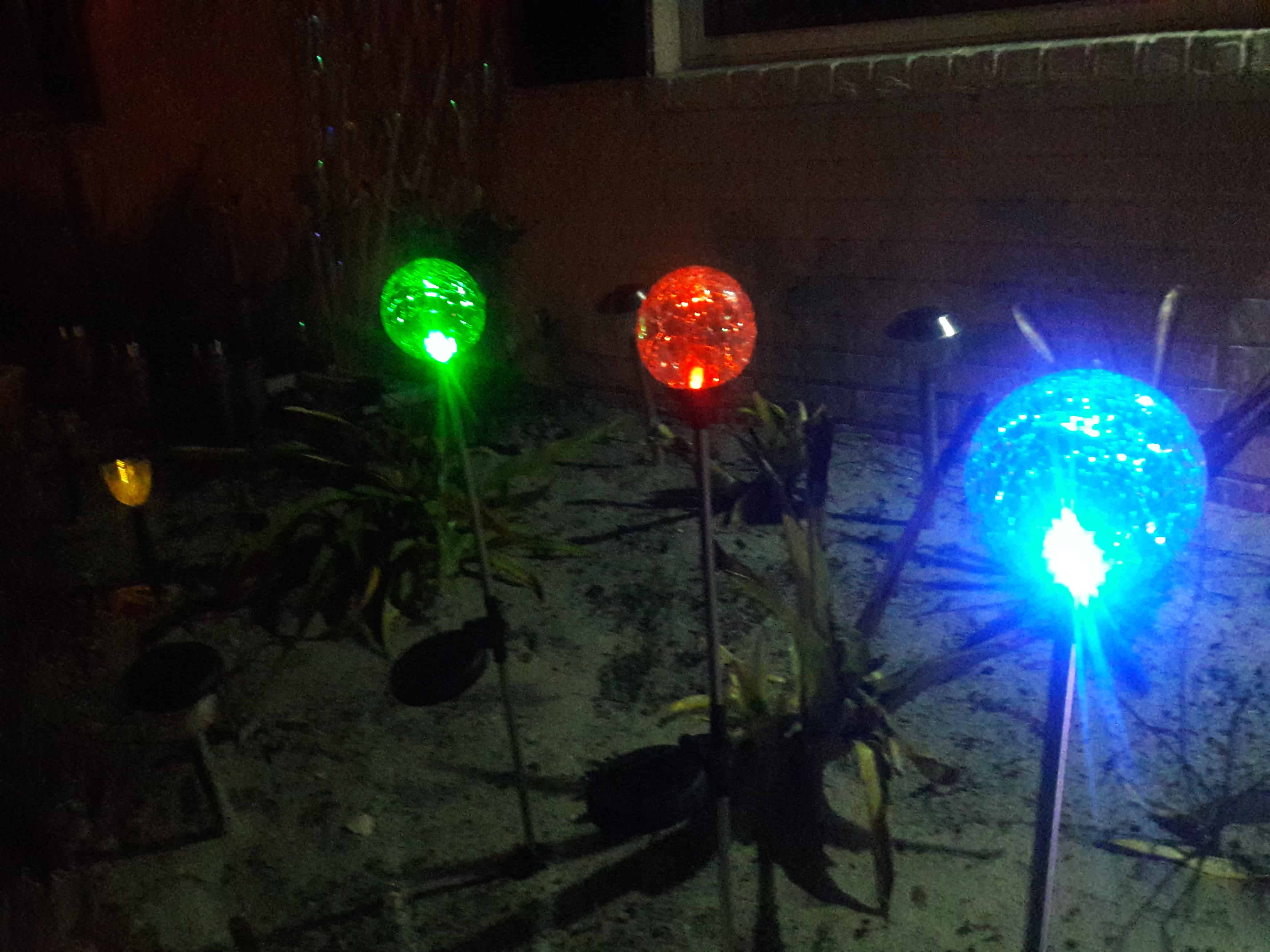 Sogrand Solar Garden Lights Outdoor Decorations Decorative Stake