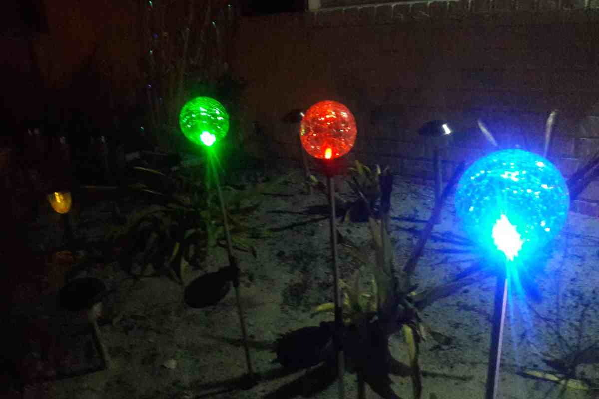 Sogrand solar garden lights outdoor decorations decorative stake home and outdoors lighting outdoors activities safety products solar lightstagged 3color amazonreview blogreview crackleglassglobe mozeypictures Gallery